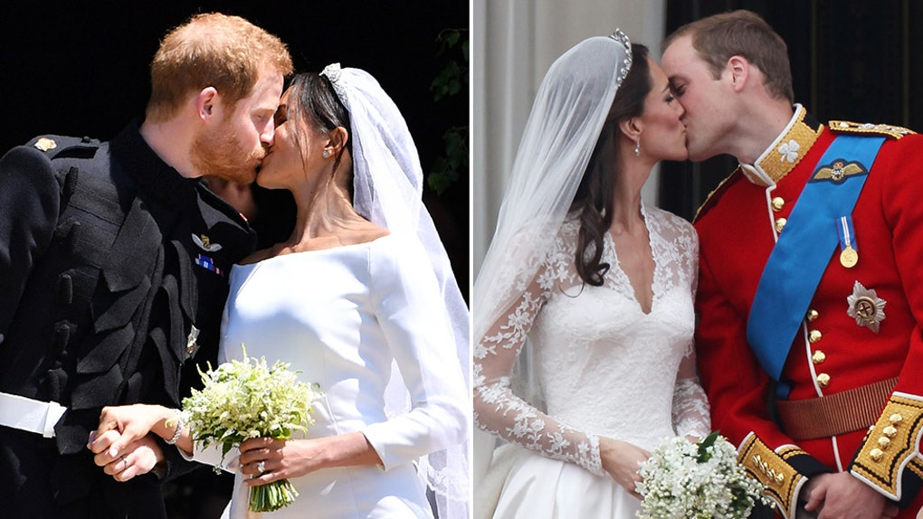 Royal Wedding Kiss.Prince Harry Meghan Markle S Royal Wedding Kiss Was So