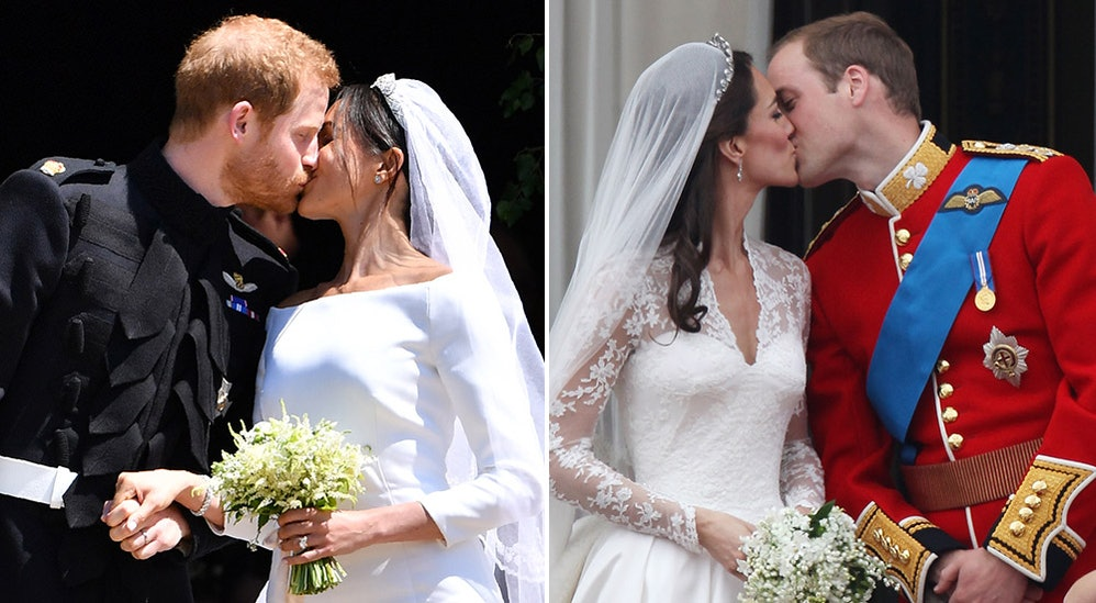 Prince Harry & Meghan Markle's Royal Wedding Kiss Was So