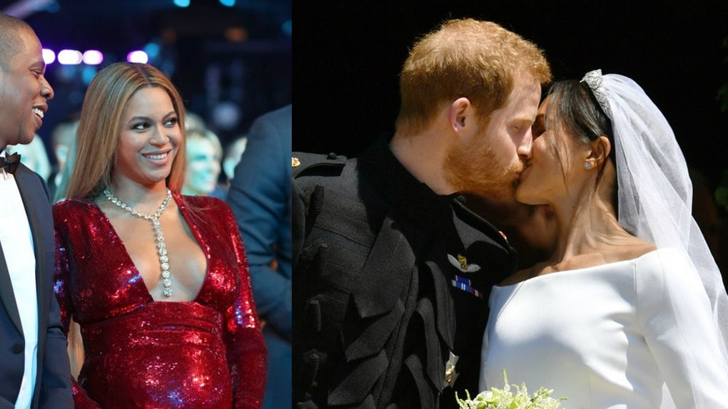 The Royal Wedding Vs Beyonce Jay Zs Wedding Shows There Were