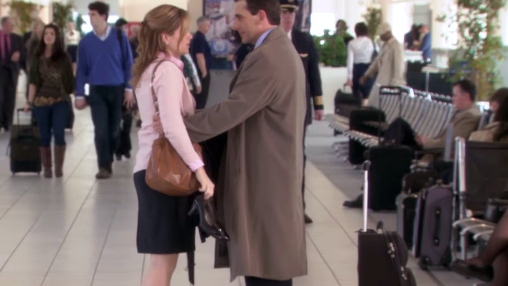 What Did Pam Say To Michael At The Airport? 'The Office ...