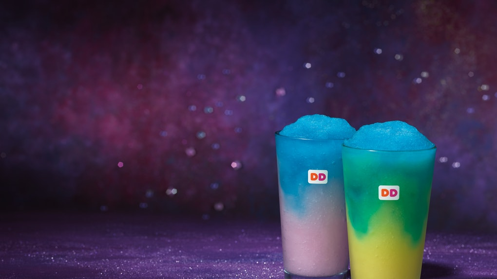 6330e0dbb94 Dunkin  Donuts  Cosmic Coolatta Drinks Are Neon-Colored   They re So  Insta-Worthy