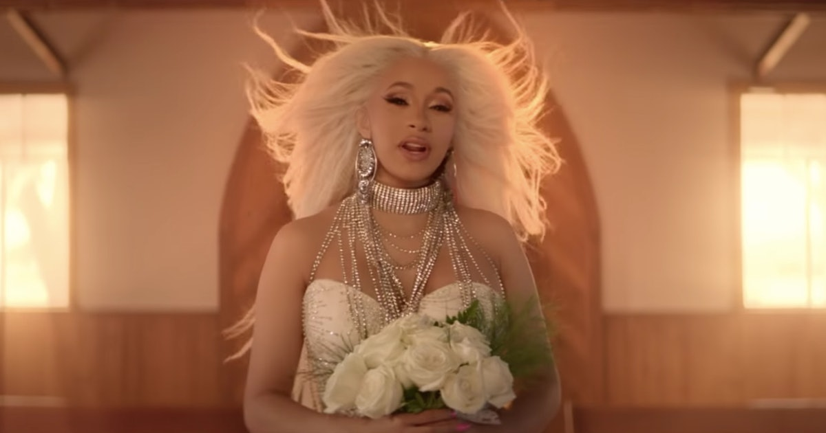 """Cardi B's """"Be Careful"""" Video Shows Her As Both An Angelic Bride & A Wi..."""