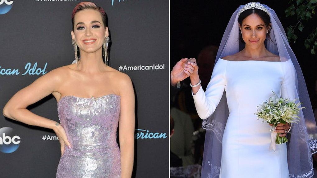 Katy Perry Shaded Meghan Markle S Royal Wedding Dress I M Not Ok With It