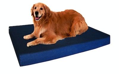 Dogbed4less Orthopedic Waterproof Memory Foam Bed