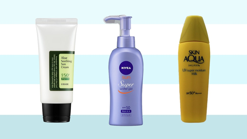 The Best Asian Sunscreens