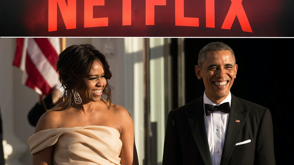 Image result for obamas and netflix
