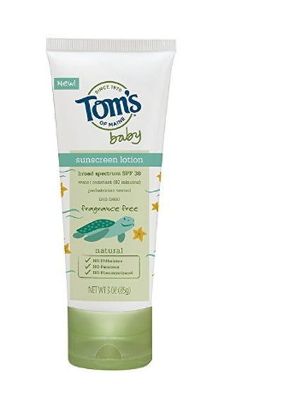 Baby Sunscreen Lotion
