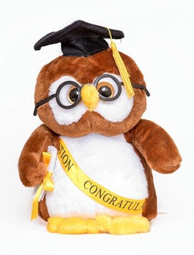 Stuffed Graduation Owl
