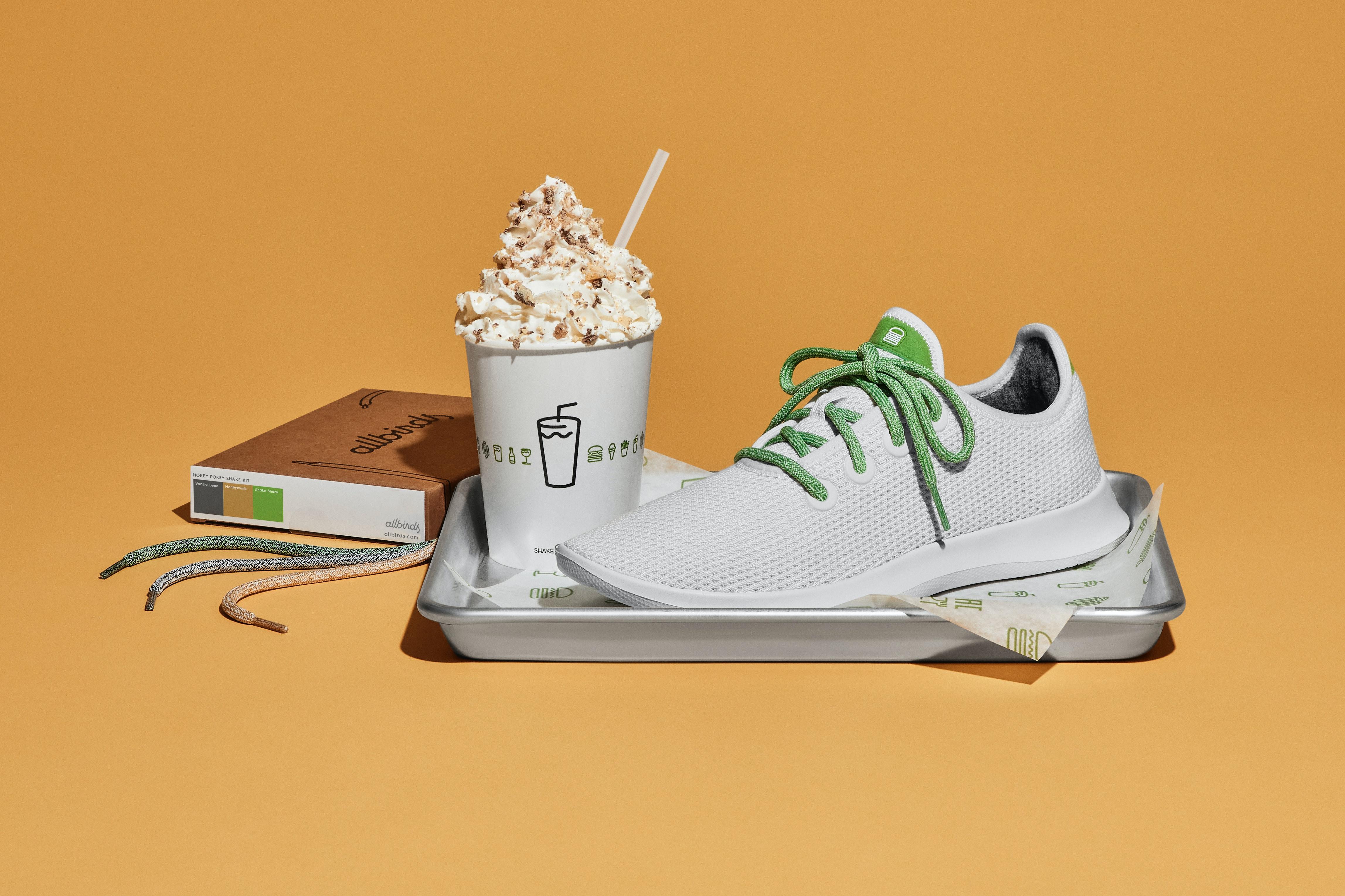 Allbirds x Shake Shack Sneakers Are