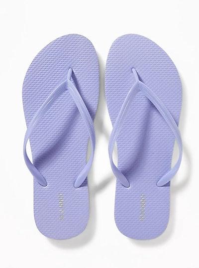Classic Pastel-Color Flip-Flops