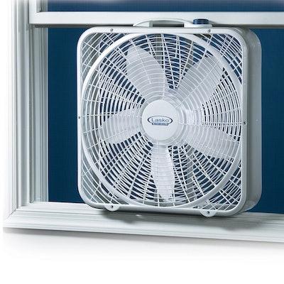 Lasko, 3720 20 Weather-Shield Performance Box Fan