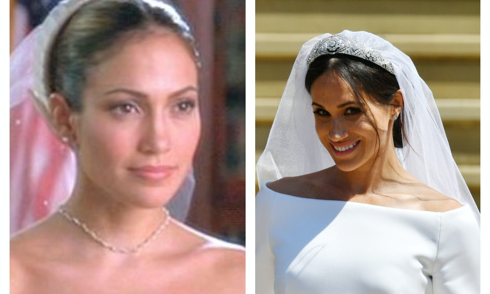Meghan Markle's Wedding Dress Looks Like The One From 'The