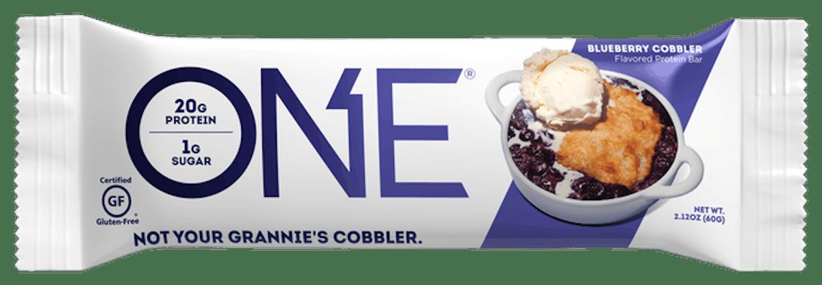 Blueberry Cobbler Flavored Protein Bar