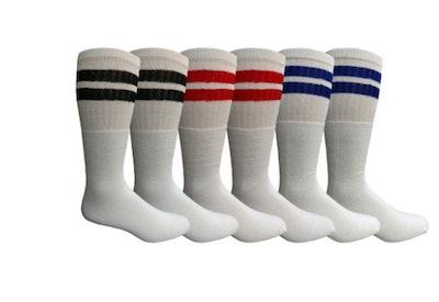 Mens King Size Tube Socks