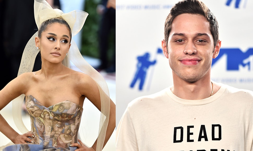 Image result for ariana grande and pete davidson