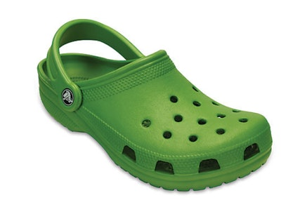 Classic Clog in Parrot Green