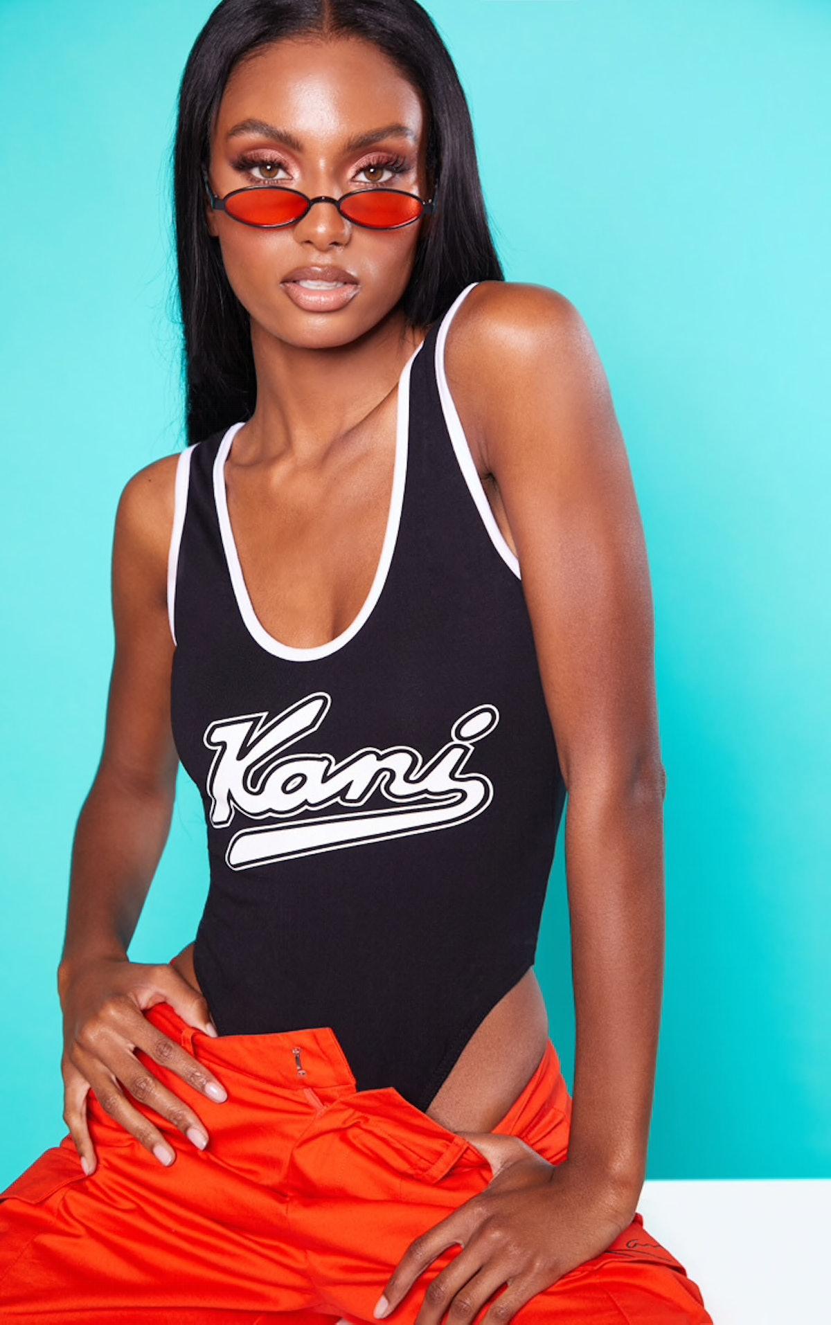 Karl Kani Backless Bodysuit
