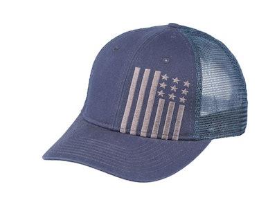 Outdoors Men's Flag Trucker Hat