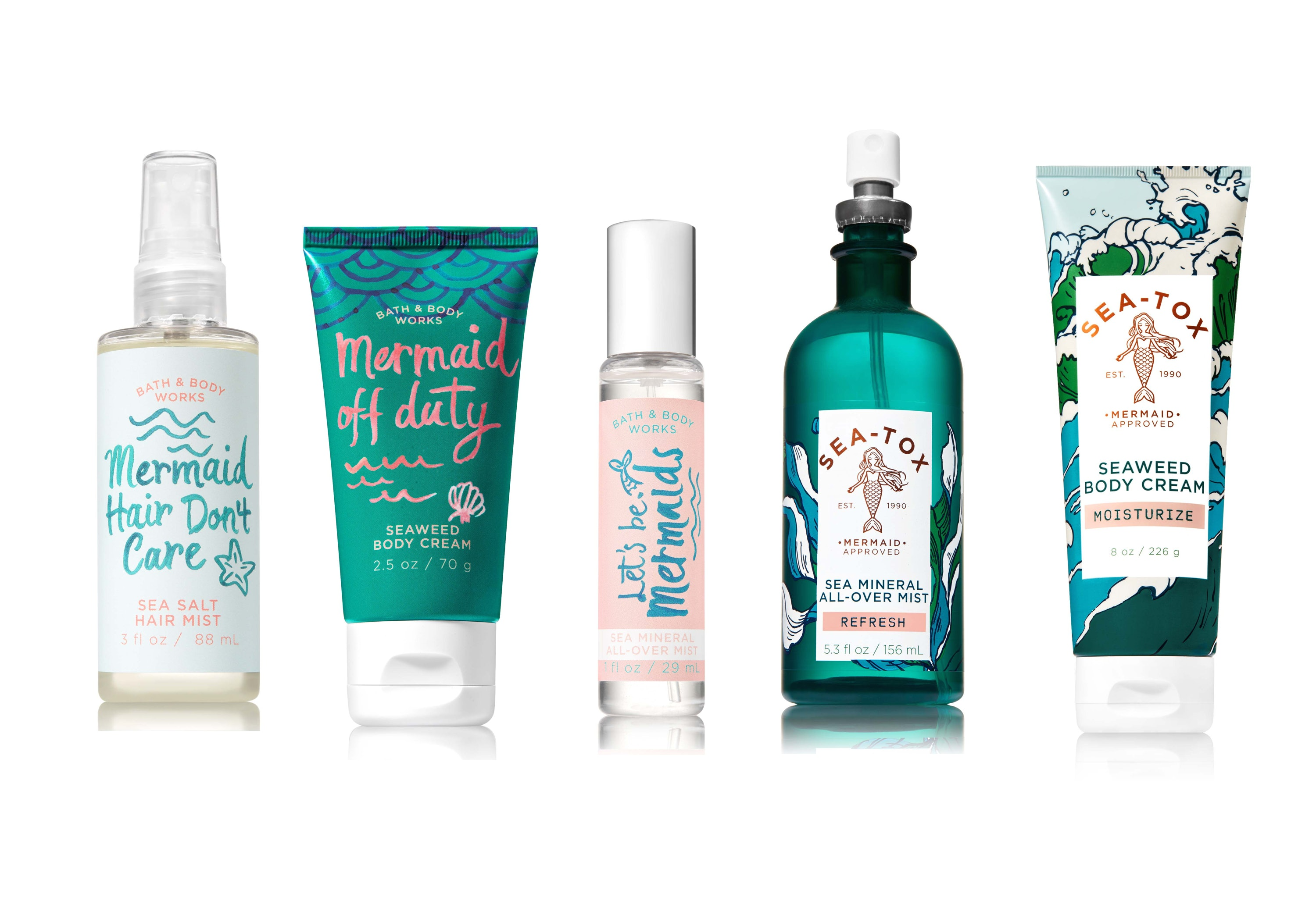 The Bath & Body Works Sea-Tox Mermaid Review Is As Magical As It Sounds