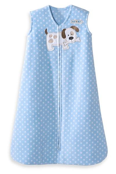 HALO SleepSack® Extra Large Fleece Wearable Blanket in Dog Squares