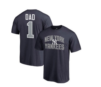 Men's Fanatics Branded 2018 Father's Day Number 1 Dad T-Shirt