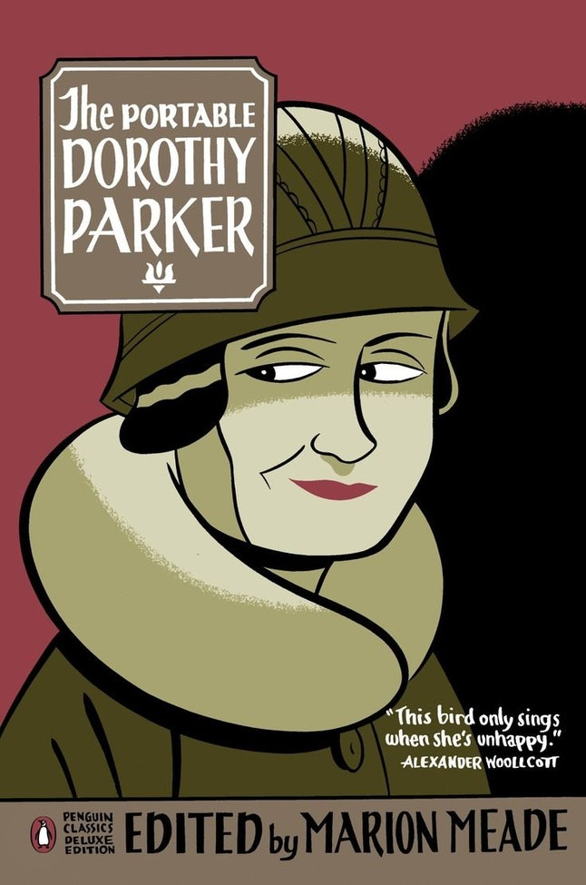 """An image of 'The Portable Dorothy Parker,' which contains the short story """"A Telephone Call."""""""