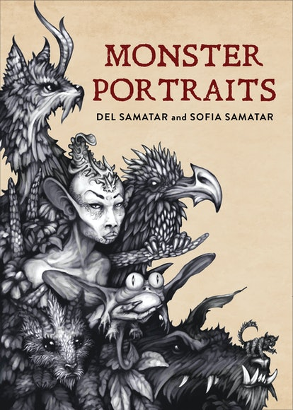 """An image of 'Monstrous Portraits' by Del Samatar and Sofia Samatar, which contains the short story """"The Huntress."""""""