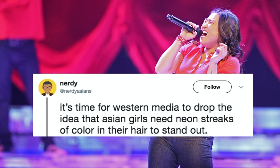 The Asian Hair Streak Trope In Hollywood Is Being Called Out Twitter