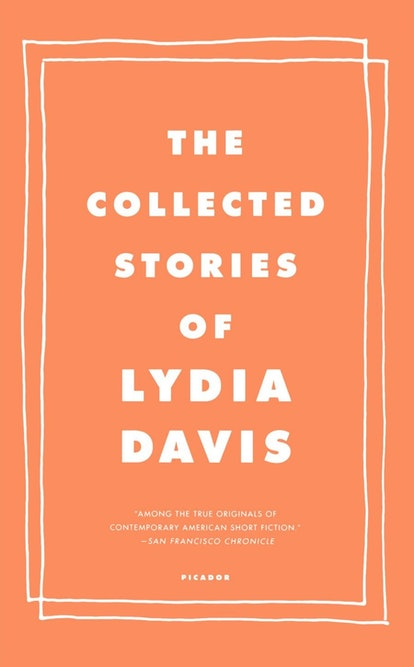 """An image of """"The Collected Stories of Lydia Davis."""""""