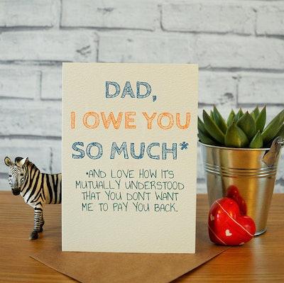 """""""Dad, I Owe You So Much... """""""