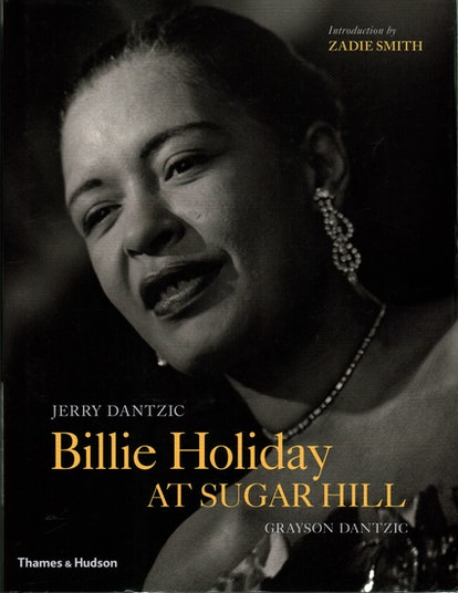 """An image of """"Billie Holiday at Sugar Hill,"""" which contains an introductory short story by Zadie Smith."""