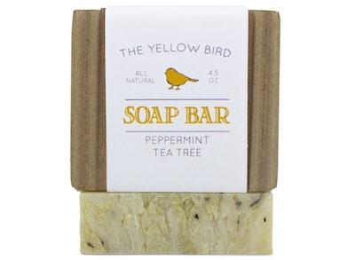 The Yellow Bird Peppermint Tea Tree Soap Bar