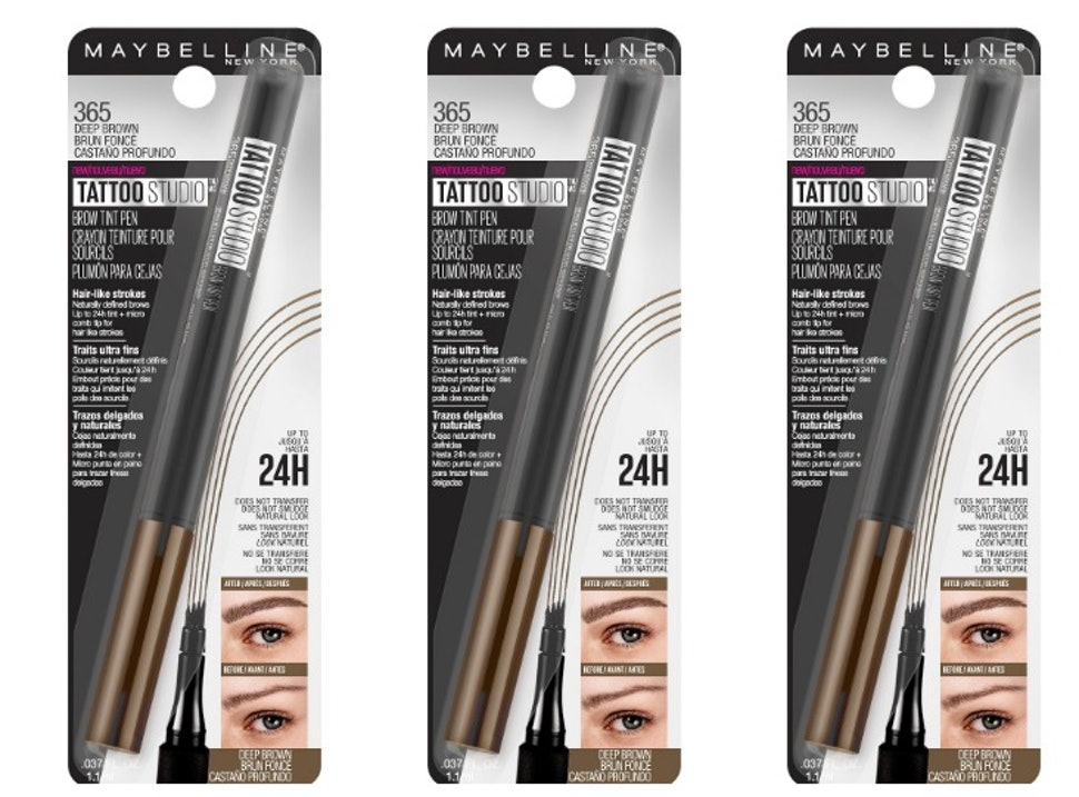 How Much Is Maybelline S Tattoo Brow Pen It S Much Cheaper Than