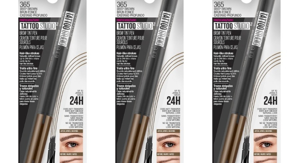b97cfca64f0 How Much Is Maybelline's Tattoo Brow Pen? It's MUCH Cheaper Than  Microblading