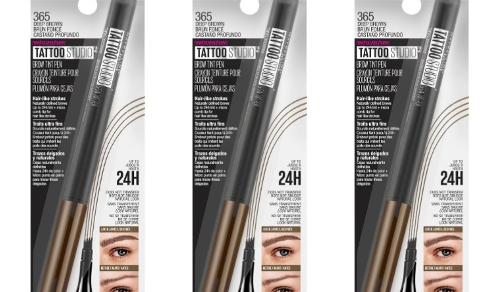 How Much Is Maybellines Tattoo Brow Pen Its Much Cheaper Than