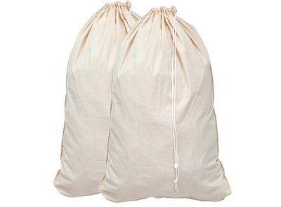 Simple Houseware Extra Large Natural Cotton Laundry Bag