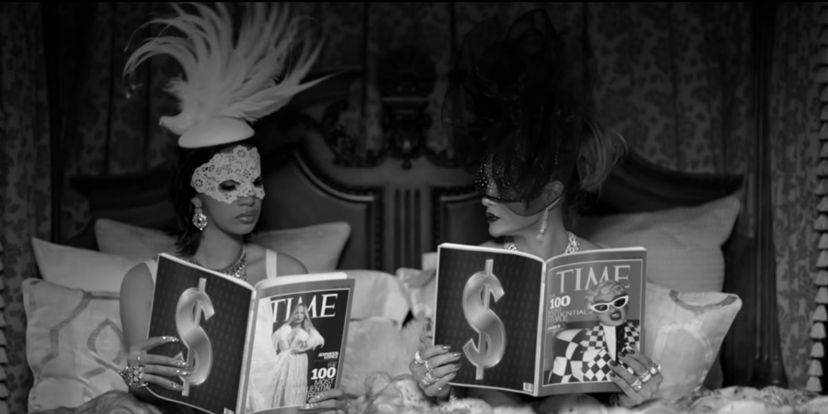 Jennifer Lopez Amp Cardi B S Quot Dinero Quot Video Is Over The Top In The Best Possible Way