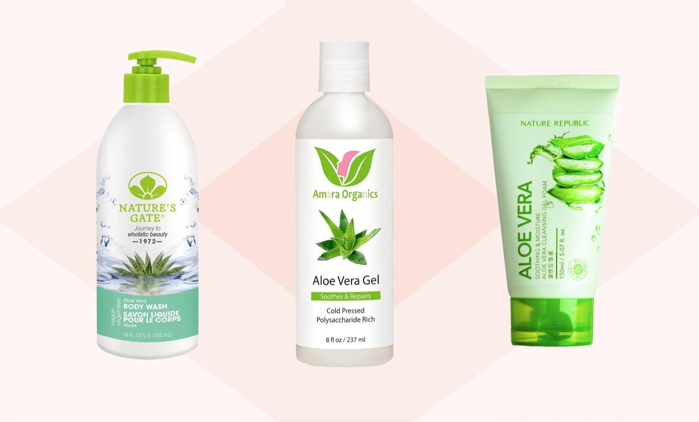 aloe gel for skin
