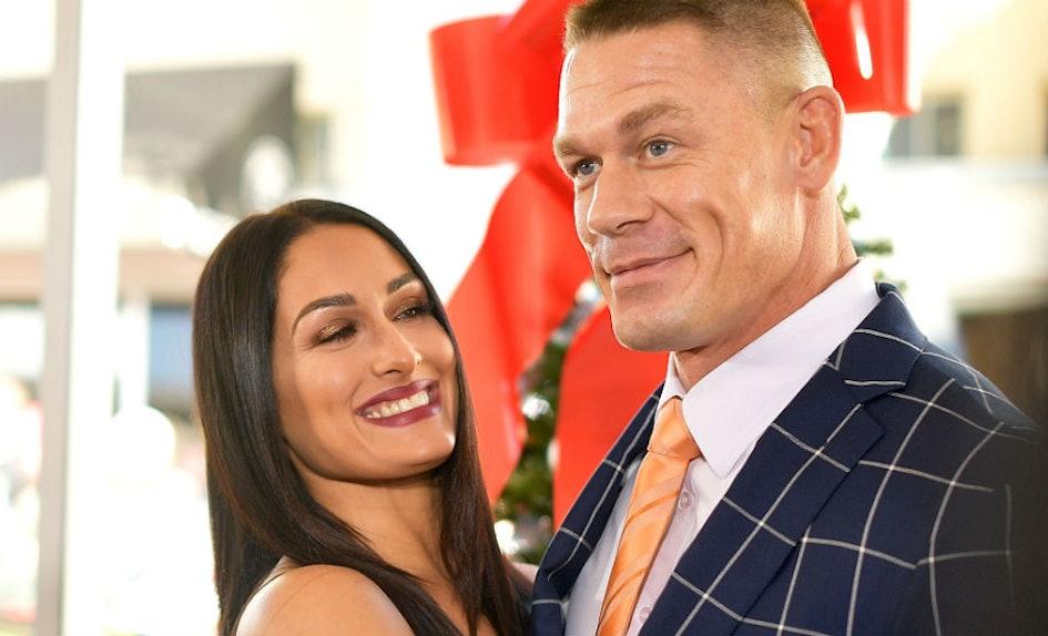 This Video Of John Cena\'s Reaction To Nikki Bella Picking His Best ...