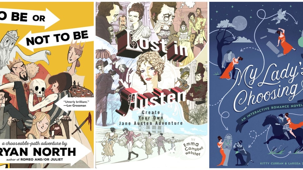 10 'Choose Your Own Adventure' Books For Adults, Because It's Way