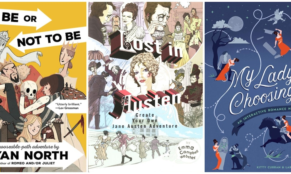 10 choose your own adventure books for adults because it s way