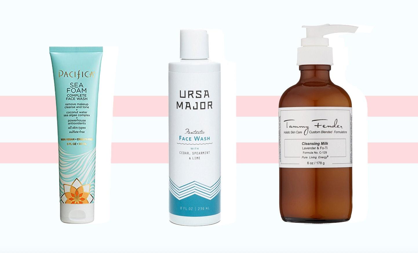 Natural facial soaps