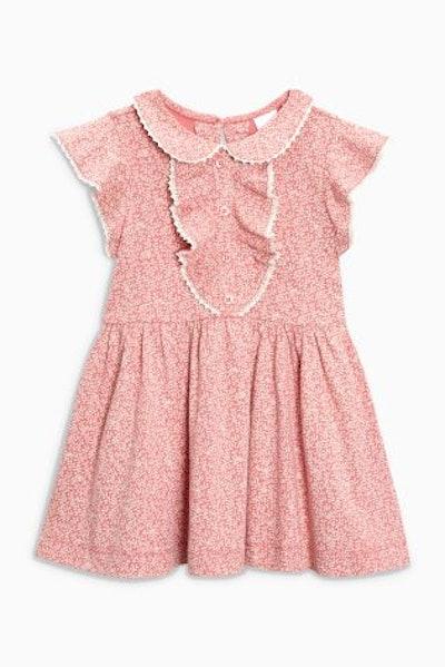 Pink Ditsy Tea Dress