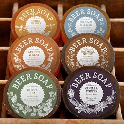 Beer Soap 6 pack