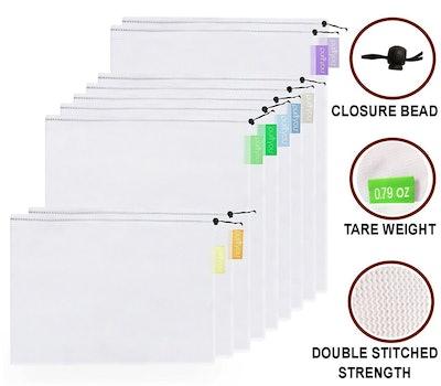 purifyou Premium Reusable Mesh Bags (Set of 10)