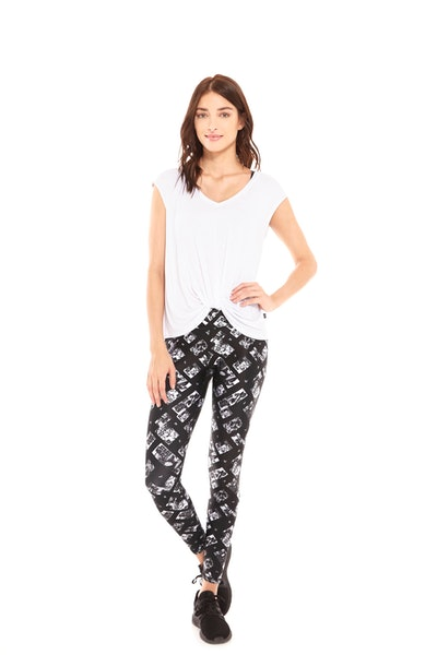 Comic Strip Tall Band Leggings