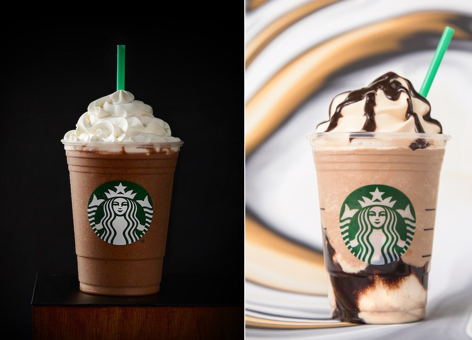 The Difference Between Starbucks' Triple & Original Mocha Frappuccinos Is Undeniable