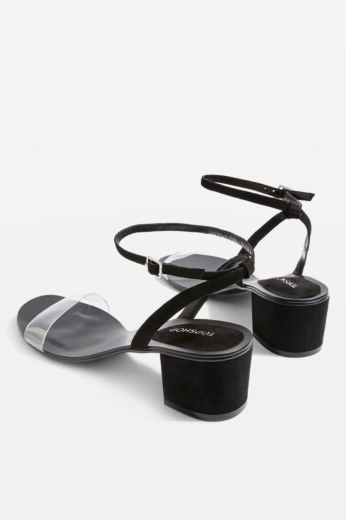 Darla 2 Part Block Heel Sandals
