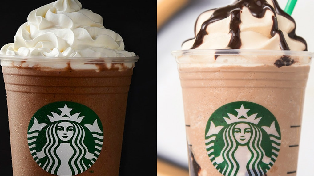 The Difference Between Starbucks Triple Original Mocha
