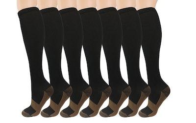 ISEASOO, Copper Compression Socks